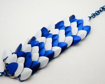 Frost - a winter inspired bracelet