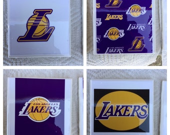 Lakers coasters