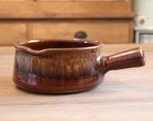 Vintage Casserole in French stoneware