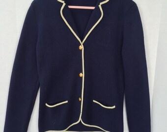 Ralph Lauren vintage varsity sweater/ blazer