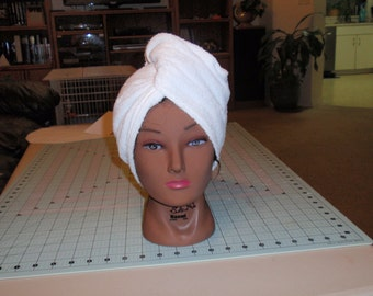 Hair Drying Towel, Hair Towel, Hair Turban, Spa Accessory