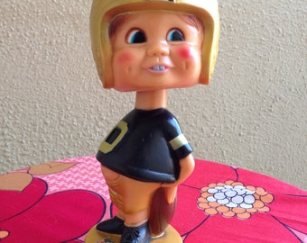 NFL bobble head vintage doll