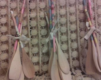 Shabby Chic Wooden Spoons