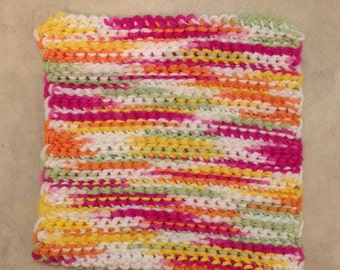 Multicolored Washcloths