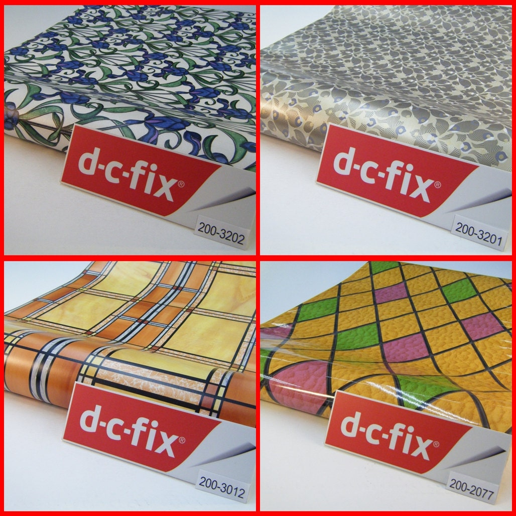 Contact paper dc fix transparent designs colour pattern - Dc fix tischdecken ...