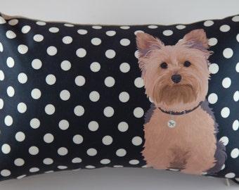 Yorkie Pillow