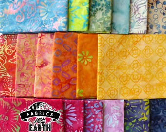 Tutti Fruity Batik 18 Fat Quarter Bundle - Quilting Fabric