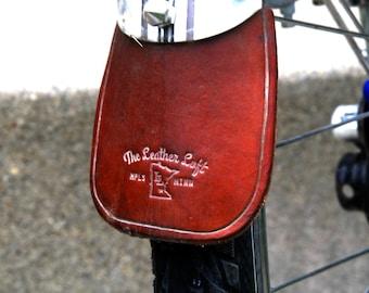 Bike Fender Leather Mudflap