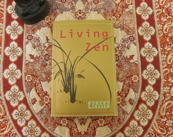 Living Zen - Buddhist Book - Robert Linssen 1988