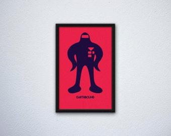 Minimalist Earthbound Poster