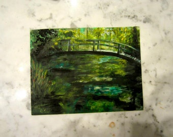 bridge over water- custom by sara