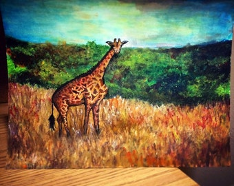 giraffe- custom by Sara
