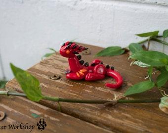 Garnet Birthstone Dragon- January birthstone