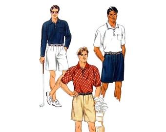 1997 Kwik Sew 2763 Kirstin Martensson Design Men's Tailored Shorts Sewing Pattern Multi Size