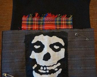 Misfits Crimson Ghost - Punk Rock Dog Shirt Deluxe