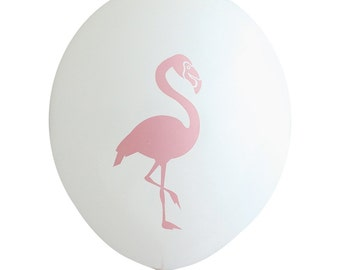 Guava Flamingo Party Balloons (Pkg of 3) - PB1104