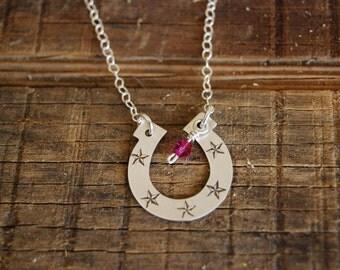 Western Horseshoe Necklace
