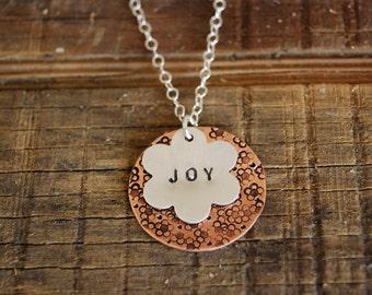 Layered Joy Pendant