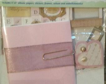 Mini Romance Scrapbook Kit (discounted)