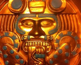 Aztec Calendar sculpture Tonatiuh