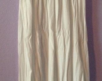 White Summer Skirt/Dress