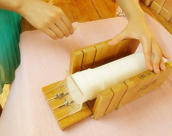 Wooden Soap Cutter Soap Mold For DIY Handmade Soap Box