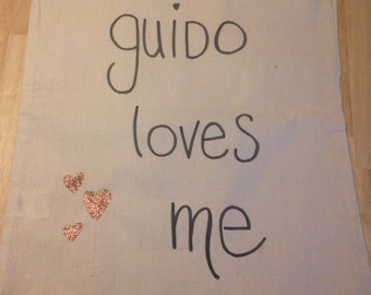 Cotton bag natural - Guido
