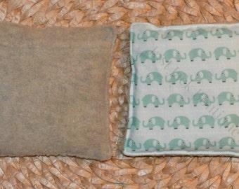 Boo Boo Buddy Flax Seed Bag with hand pocket - Elephant