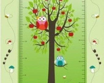 Owl Growth Chart - By Stof