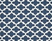Premier Prints Fulton in Premier Navy Blue Twill Home Decor fabric, 1 yard