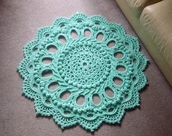 """Crochet rug """"Splendid"""""""