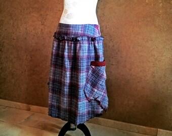 Double slit Medi skirt