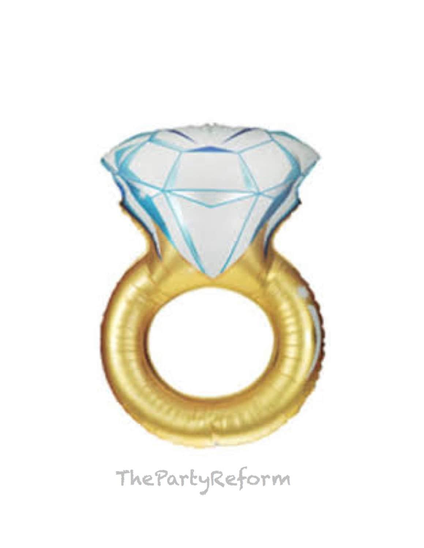 engagement ring balloon ring balloon wedding ring