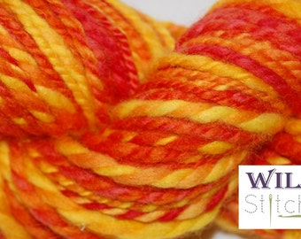 Hand Spun Polwarth wool - Yellow Dwarf