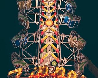 Carnival photography, carnival ride, fine art photographs, orange county fair, fun photography