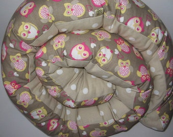 Nursing pillows/bed roll 33 cm circumference, new!