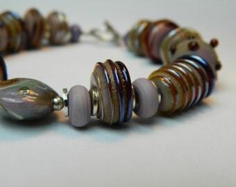Spots and stripes bracelet