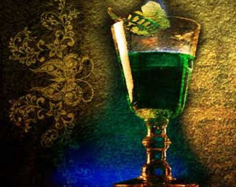 Absinthe fragrance oil. 1,2,4 oz candle and soap fragrance