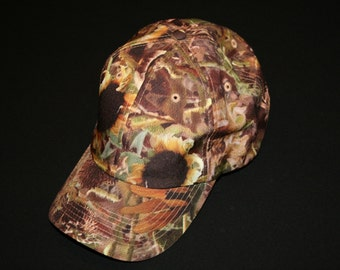 Sunflower Camo Hat