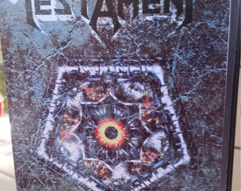 TESTAMENT Hollywood 1993 dvd
