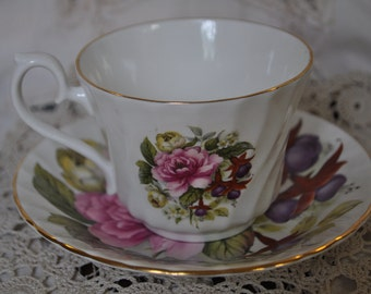 House of Global Art Floral Tea Cup and Saucer