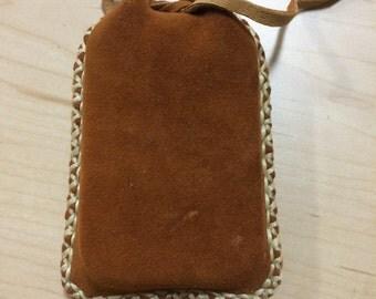 Buckskin pouch