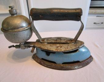 Vintage Coleman Steam Iron, 1940's