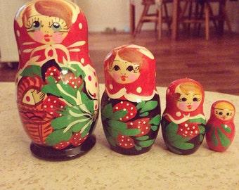 Authentic Matryoshka Dolls
