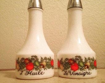 1960s Gemco Oil and Vinegar Dispensers