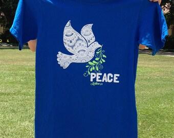 Peace T-shirt (Matthew 5:9)