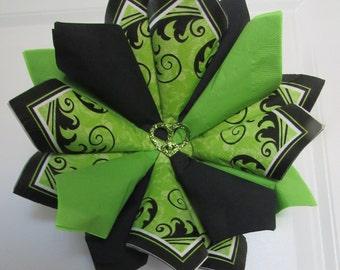 Z SM Green Swirl Wreath