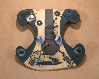 Waist iPODDERY Vania Setti Settiarts Ceramics Art Stoneware Plaque