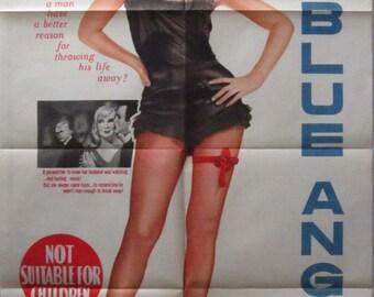 Blue Angel - Australian One sheet movie poster 1959