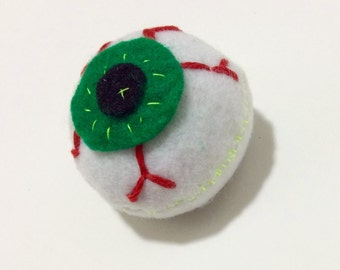 Eyeball Catnip Toy